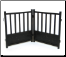 Royal Weave Metal Dog Gate
