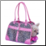 Luxurious Leopard Print Dog/Pet Carrier