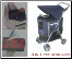 Designer Cat Dog Stroller Carrier