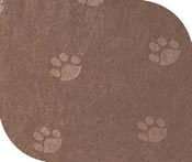 Poly Suede tan fabric for rectangular pillow dog bed