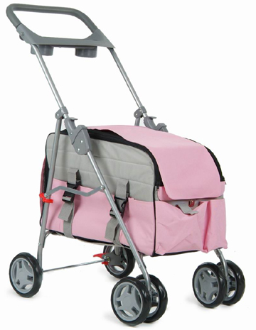 3 in 1 dog stroller carrier