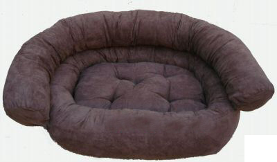 Ultra light pet dog couch bed - coffee