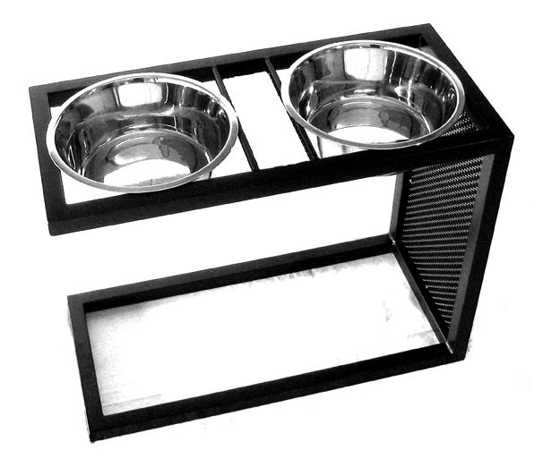 XL Cantilever Dog Double Diner