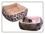 Designer Square Dog Bed