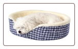 Pet Nest Round Orthopedic Foam Dog Bed